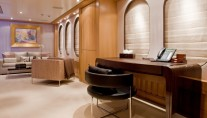 Superyacht MALIBU - Master Office